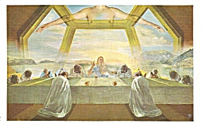 Sacrement Of The Last Supper Salvadore Dali P34997