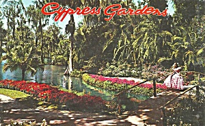 Cypress Gardens Florida Southern Belle P35005