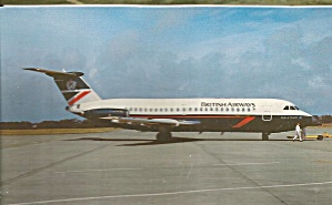 British Airways Bac 111-401ak G-bbme P35010