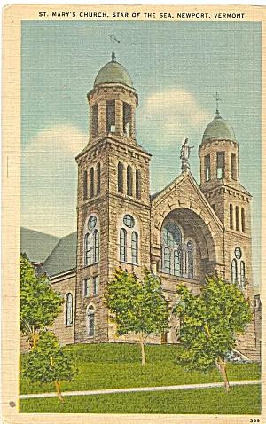 St Mary s Church Star of the Sea Newport VT p35042 (Image1)