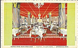 Hotel Highland Springfield MA Regency Room p35048 (Image1)