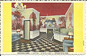 Hotel Highland Springfield MA Entrance Lobby p35049 (Image1)