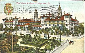 Hotel Ponce de Leon  St Augustine FL 1911 p35067 (Image1)