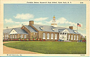 Franklin D. Roosevelt High School Hyde Park Ny P35123