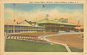 Yonkers NY Yonkers Raceway Trotters 1952 postcard  p35161 (Image1)