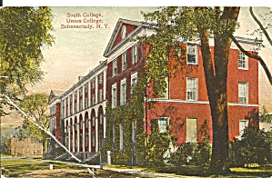 Schenetady Ny South College Union College 1915 Postcard P35165