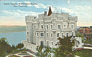 Washington Heights New York City Castle Paterno 1921 p35174 (Image1)