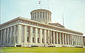 Ohio State Capitol Columbus Ohio Postcard P35184