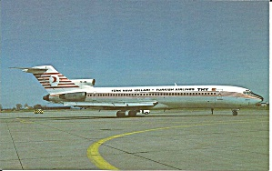 Turkish Airlines 727-200 Postcard P35243