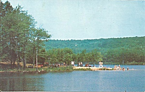 Chestnut Hill Reservoir Ct Sands Shore Park Postcard P35256