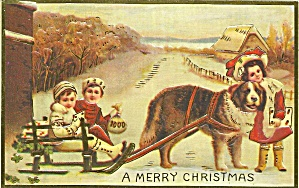 Repro Of Old Christmas Postcard P35303