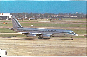 Air Frace Convair 990A N5605 postcard p35304 (Image1)