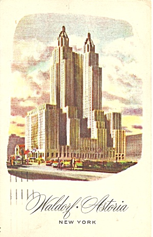 Waldorf Astoria Hotel New York City p35329 (Image1)