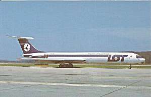 Lot Ilyushin 62m Jetliner Sp-lbc P35359