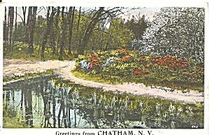 Chatham NY Landscape Scene 1923 Postcard p35366 (Image1)