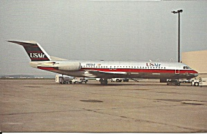 Usair Fokker 100 N850us P35404