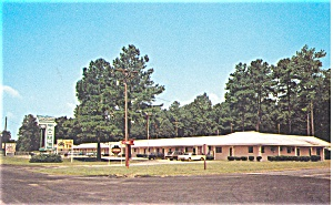 Town and Country Motel Fayetteville NC Postcard p3540 (Image1)