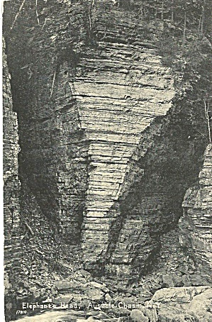 Ausable Chasm Ny Elephant Head P35415
