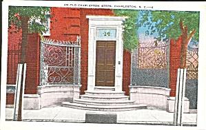 Charleston SC Old Mansion Entrance Iron Work p35430 (Image1)
