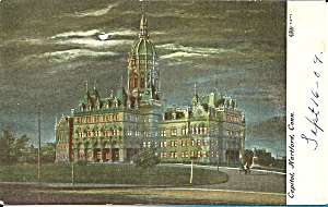 Connecticut  State Capitol Hartford p35438 (Image1)