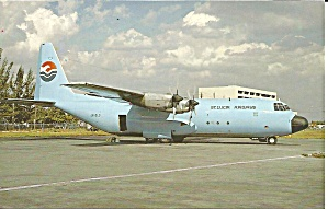 St Lucia Airways Lockheed L-382F Hercules J6-SLO p35456 (Image1)