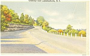 Cuddebackville NY Postcard p3546 (Image1)