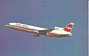 Trans World Airways Twa Lockheed L-1011-1 N11003 P35470