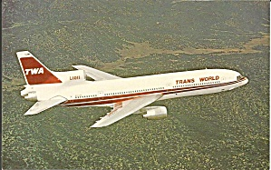 Trans World Airlines Twa L-1011-1 100 N31033 P35475