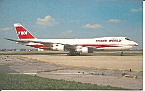Trans World Airlines 747-284b N305tw P35484