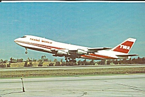Trans World Airlines Twa 747 N133te P35486