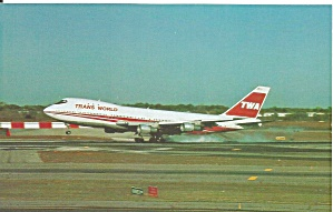 Trans World Airlines Twa 747 N301tw P35487