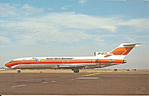 Psa 272-214 N555ps Donald Duck Livery Postcard P35521