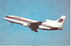 United Lockheed L-1011-500 N511pa Postcard P35545