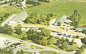 Keene NH Winding Brook Lodge Motel postcard p35551 (Image1)