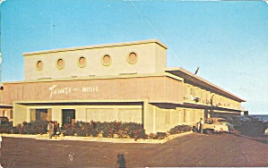 Miami Beach Fl Tahiti Apartment Motel 1953 Postcard P35552