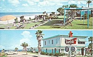 Daytona Beach FL Starfish Beach Motel postcard p35554 (Image1)