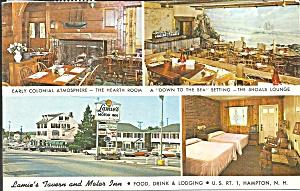 Hampton NH Lamie s Tavern Motor Inn postcard p35555 (Image1)