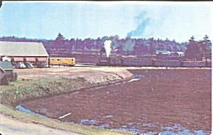 Edaville RR Station South Carver MA postcard p35600 (Image1)