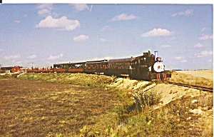 South Carver MA Steam Train Edaville RR postcard p35601 (Image1)