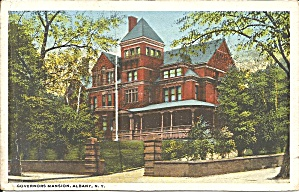Albany NY Governor s Mansion postcard p35602 (Image1)