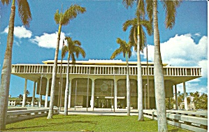Honolulu HI State Capitol postcard p35608 (Image1)