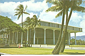 Honolulu Hawaii State Capitol postcard p35609 (Image1)
