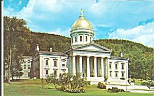 Montpelier VT State Capitol Postcard p35610 (Image1)