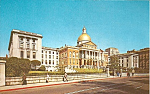The New State House Boston Ma Postcard P35615