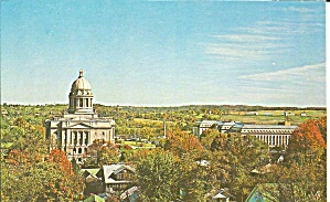 Frankfort Ky State Capitol Postcard p35620 (Image1)
