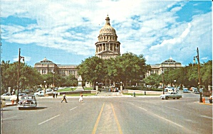 Austin TX State Capitol Postcard p35621 (Image1)