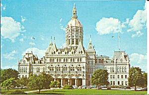 Hartford CT State Capitol Postcard p35625 (Image1)