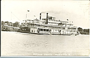 Grordon C Greene Steamer built 1923 Photo Postcard p35638	 (Image1)