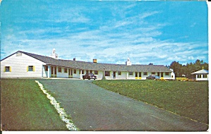 Falmouth ME Dysarts Motel postcard p35641 (Image1)