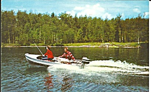 Boating In Vermont 1960 Postcard P35683